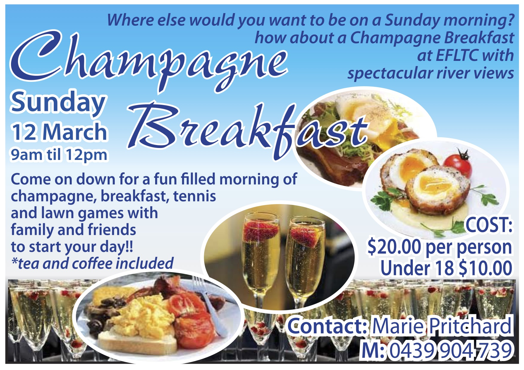 Champagne Breakfast poster (1)